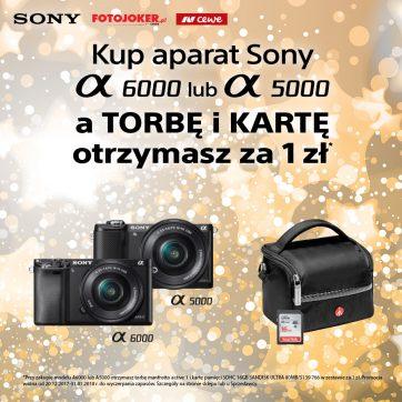 Super oferta na aparat Sony w Fotojoker