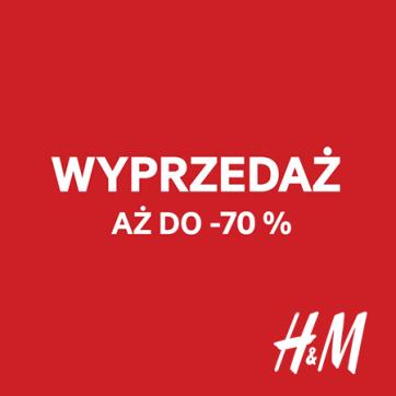 Rabaty -70% w H&M