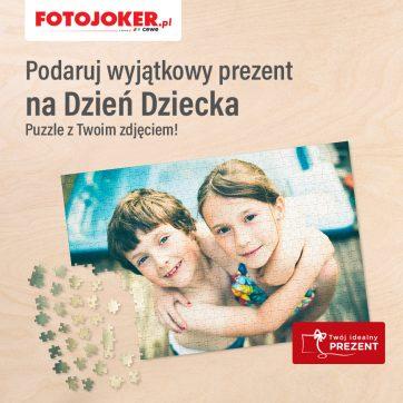 -20% rabatu na puzzle w Fotojoker