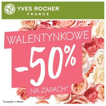 Walentynkowe -50% na zapach