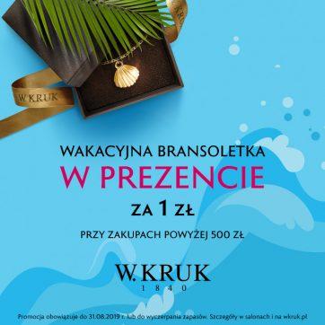 Letnia promocja W.Kruk