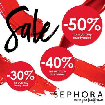 Jesienna wyprzedaż w perfumerii Sephora – rabaty nawet do 50%