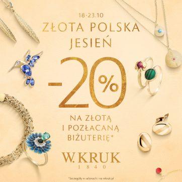 Skorzystaj z oferty Złota Polska Jesień w W.KRUK