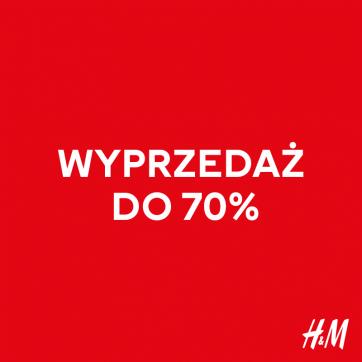 Noworoczna wyprzedaż w H&M do -70%