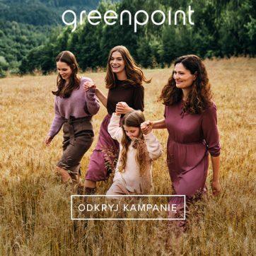 Greenpoint – Kampania Jesień Zima 20/21