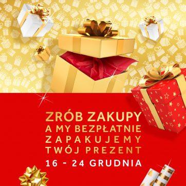 Bezpłatne pakowanie prezentów
