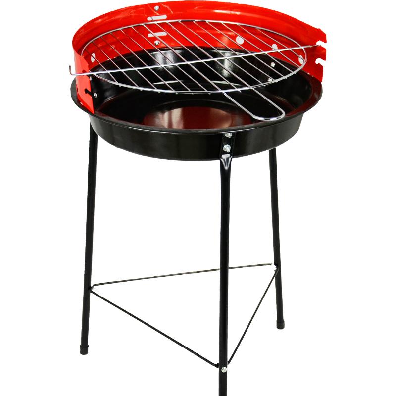 Carrefour - grill węglowy z żeliwnym rusztem